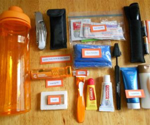 Outpatient/inpatient hospital kits and disposal items